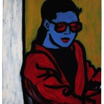 """Bildnis """"C. with red Glasses"""""""