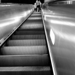 Rolltreppe irgendwo